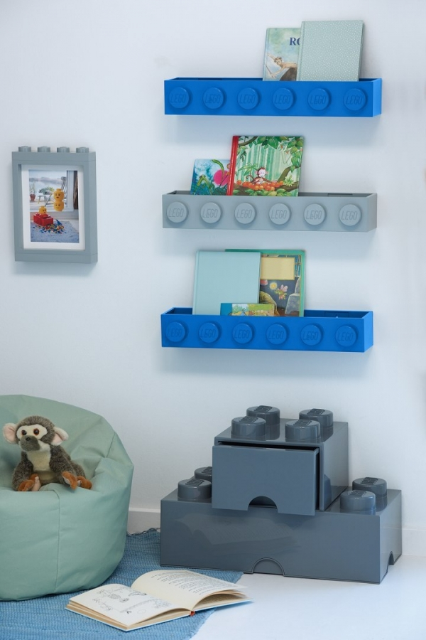 Półka LEGO® - Czarna (41121733)